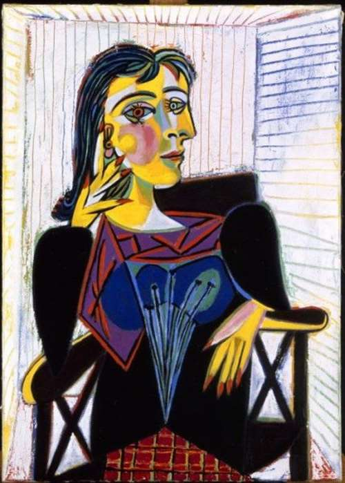 portrait of dora maar by pablo picasso