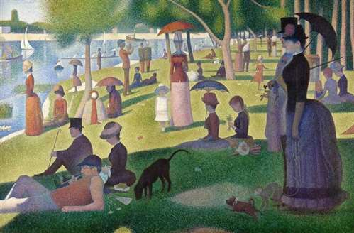 sunday afternoon on the island of la grande jatte 1884 86