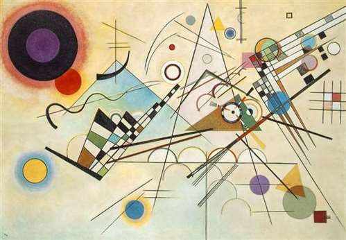 Composition kandinsky painting