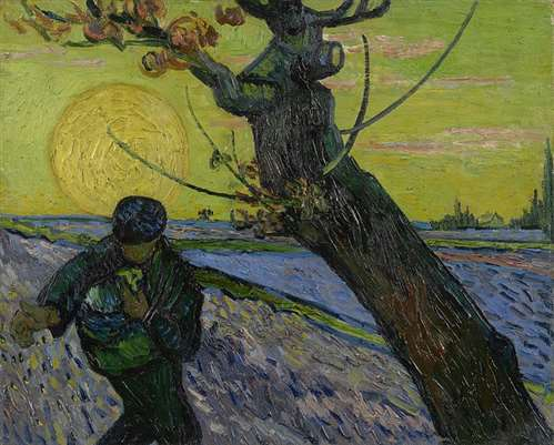 The Sower Van Gogh Museum
