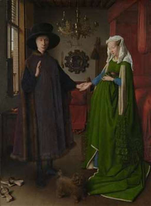 The Arnolfini Marriage painting