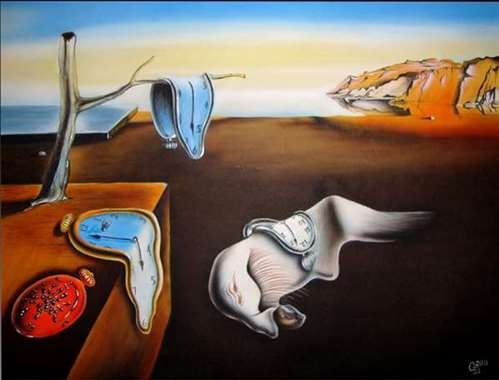 The Persistence of Memory salvador deli painting