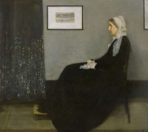 Whistler Mother james mcneill whistler painting