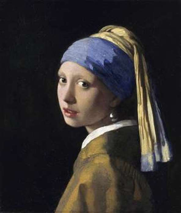 girl with a pearl earring johannes painting