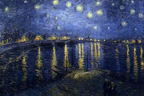 starry night over the rhone at arles
