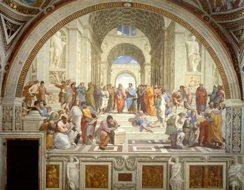school of athens raphael painting